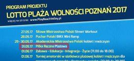 31 maja piłka ręczna plażowa na poznańskim Placu Wolności!