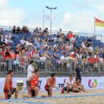 2017.07.26 Wroclaw The World Games Wrocław 2017 Pilka reczna plazowa Polska - Wegry