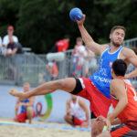 2017.07.26 Wroclaw The World Games Wrocław 2017 Pilka reczna plazowa Polska - Wegry n/Z Kacper Adamski