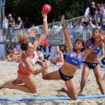 2017.07.26 Wroclaw The World Games Wrocław 2017 Pilka reczna plazowa Polska - Chinskie Tajpej N/z Ewa Nowicka