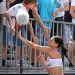 2017.07.26 Wroclaw The World Games Wrocław 2017 Pilka reczna plazowa Polska - Chinskie Tajpej N/z Katarzyna Maslowska