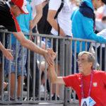 2017.07.26 Wroclaw The World Games Wrocław 2017 Pilka reczna plazowa Polska - Chinskie Tajpej N/z Marek Karpinski