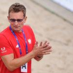 2017.07.26  The World Games Wrocław 2017 Pilka reczna plazowa Polska - Chorwacja N/z Krzysztof Kisiel