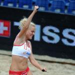 2017.07.27  The World Games Wrocław 2017 Pilka reczna plazowa Polska - Australia N/z Weronika Lakomy