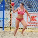 2017.07.27  The World Games Wrocław 2017 Pilka reczna plazowa Polska - Australia N/z Natalia Krupa