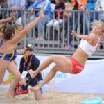 2017.07.27  The World Games Wrocław 2017 Pilka reczna plazowa Polska - Australia N/z Alicia Slezak