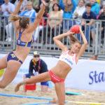 2017.07.27  The World Games Wrocław 2017 Pilka reczna plazowa Polska - Australia N/z Lidia Zakowska
