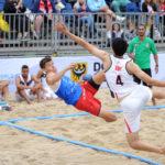 2017.07.27  The World Games Wrocław 2017 Pilka reczna plazowa Polska - Egipt Bartosz Wojdak