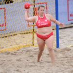 2017.07.28 The World Games Wrocław 2017 Pilka reczna plazowa Polska - Hiszpania N/z Magdalena Slota