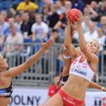 2017.07.28 The World Games Wrocław 2017 Pilka reczna plazowa Polska - Hiszpania Paulina Sowa
