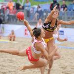 2017.07.28  The World Games Wrocław 2017 Pilka reczna plazowa Polska - Hiszpania N/z Ewa Nowicka