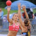 2017.07.28  The World Games Wrocław 2017 Pilka reczna plazowa Polska - Hiszpania N/z Lidia Zakowska