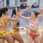 2017.07.28  The World Games Wrocław 2017 Pilka reczna plazowa Polska - Hiszpania N/z Sylwia Bartkowiak