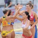 2017.07.28 The World Games Wrocław 2017 Pilka reczna plazowa Polska - Hiszpania