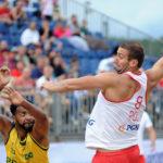 2017.07.28  The World Games Wrocław 2017 Pilka reczna plazowa Polska - Brazylia Emil Kozuchowski