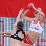 2017.07.28  The World Games Wrocław 2017 Pilka reczna plazowa Polska - Tunezja Alicia Slezak