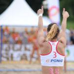 2017.07.28  The World Games Wrocław 2017 Pilka reczna plazowa Polska - Tunezja Ewa Nowicka