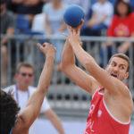 2017.07.28  The World Games Wrocław 2017 Pilka reczna plazowa Polska - Urugwaj Emil Kozuchowski