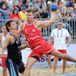 2017.07.28  The World Games Wrocław 2017 Pilka reczna plazowa Polska - Urugwaj