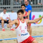 2017.07.29 The World Games Wrocław 2017 Pilka reczna plazowa Polska - Egipt WOJDAK Bartosz