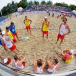 2017.07.29 The World Games Wrocław 2017 Pilka reczna plazowa Polska - Egipt