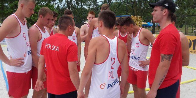 Konsultacja kadry narodowej juniorów w piłce ręcznej plażowej