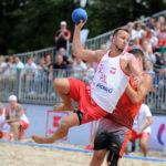 2017.07.26 Wroclaw The World Games Wrocław 2017 Pilka reczna plazowa Polska - Wegry N/z Milosz Rupp