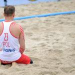 2017.07.26 Wroclaw The World Games Wrocław 2017 Pilka reczna plazowa Polska - Wegry N/z Konrad Szczukocki