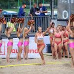 2017.07.26 Wroclaw The World Games Wrocław 2017 Pilka reczna plazowa Polska - Chinskie Tajpej N/z Paulina Sowa