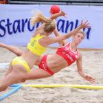 2017.07.26 Wroclaw The World Games Wrocław 2017 Pilka reczna plazowa Polska - Brazylia N/z Alicia Slezak