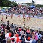 2017.07.26 Wroclaw The World Games Wrocław 2017 Pilka reczna plazowa Polska - Brazylia