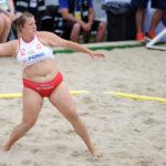 2017.07.26 Wroclaw The World Games Wrocław 2017 Pilka reczna plazowa Polska - Brazylia N/z Magdalena Slota