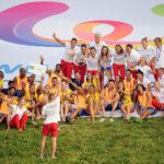 26.07.2017 The World Games Wrocław 2017 Pilka reczna plazowa Ceremonia otwarcia N/z Reprezentacja Polski i Brazylii
