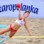 2017.07.27  The World Games Wrocław 2017 Pilka reczna plazowa Polska - Australia N/z Sylwia Bartkowiak