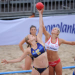 2017.07.27  The World Games Wrocław 2017 Pilka reczna plazowa Polska - Australia N/z Paulina Sowa