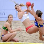 2017.07.27  The World Games Wrocław 2017 Pilka reczna plazowa Polska - Australia N/z Ewa Nowicka