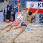 2017.07.27  The World Games Wrocław 2017 Pilka reczna plazowa Polska - Australia N/z Alicja Slezak