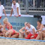 2017.07.27 Wroclaw 2017.07.27  The World Games Wrocław 2017 Pilka reczna plazowa Polska - Australia