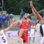 2017.07.27  The World Games Wrocław 2017 Pilka reczna plazowa Polska - Egipt Kacper Adamski