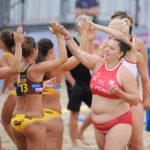 2017.07.28 The World Games Wrocław 2017 Pilka reczna plazowa Polska - Hiszpania Magdalena Slota