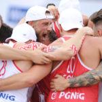 2017.07.28  The World Games Wrocław 2017 Pilka reczna plazowa Polska - Brazylia Mateusz Orlowski