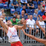 2017.07.28  The World Games Wrocław 2017 Pilka reczna plazowa Polska - Brazylia N/z Maciej Wludarczak