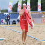 2017.07.28  The World Games Wrocław 2017 Pilka reczna plazowa Polska - Brazylia Sebastian Trojanowicz