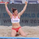 2017.07.28  The World Games Wrocław 2017 Pilka reczna plazowa Polska - Tunezja Sylwia Bartkowiak