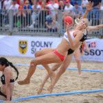 2017.07.28  The World Games Wrocław 2017 Pilka reczna plazowa Polska - Tunezja Paulina Sowa
