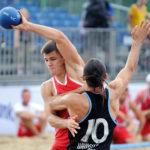 2017.07.28  The World Games Wrocław 2017 Pilka reczna plazowa Polska - Urugwaj Bartosz Wojdak