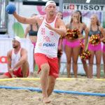 2017.07.28  The World Games Wrocław 2017 Pilka reczna plazowa Polska - Urugwaj Sebastian Trojanowicz