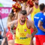 2017.07.29 The World Games Wrocław 2017 Pilka reczna plazowa Polska - Egipt FIODOR Adrian
