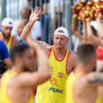 2017.07.29 The World Games Wrocław 2017 Pilka reczna plazowa Polska - Egipt TROJANOWICZ Sebastian