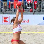 2017.07.29 The World Games Wrocław 2017 Pilka reczna plazowa Polska - Australia KRUPA Natalia
